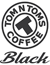 TOM N TOMS COFFEE Black